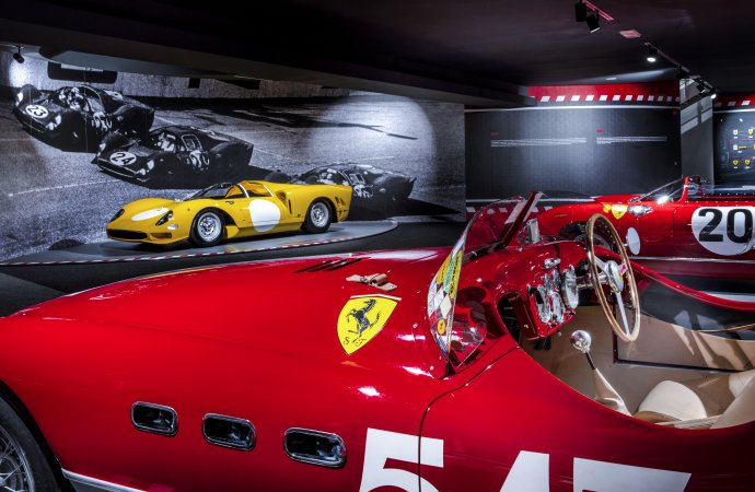 Ferrari Museum offers doubleheader of special exhibits