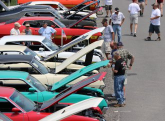 Record-setting 3,196 cars turn out for Ford Nationals at Carlisle
