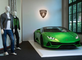 Lamborghini launches menswear collection