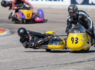 Vintage motorcycles gather at Elkhart Lake