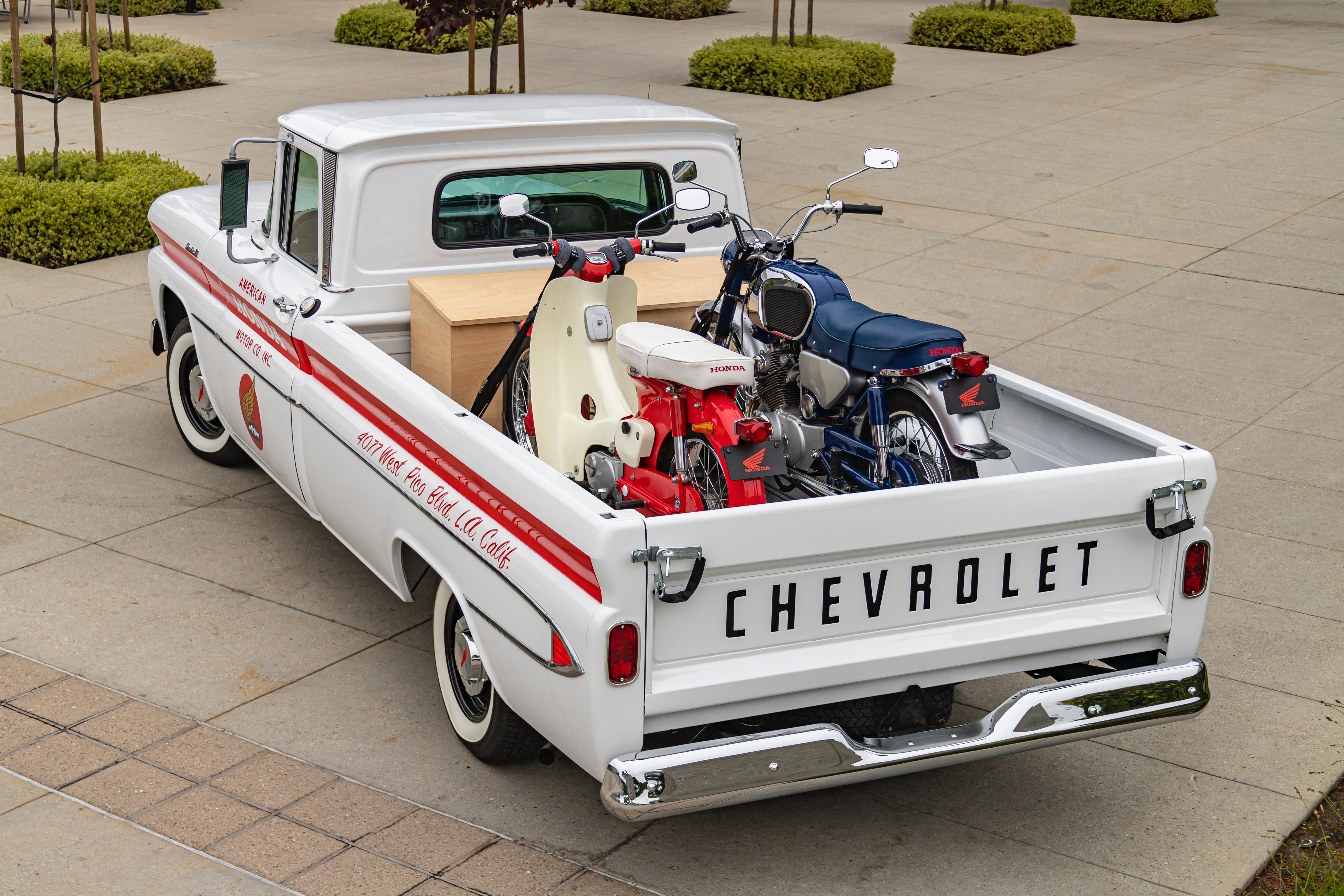 Chevrolet truck, Why did American Honda restore a 1961 Chevrolet pickup truck?, ClassicCars.com Journal