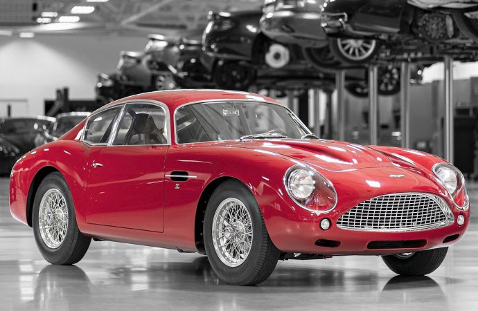 Aston Martin to debut DB4 GT Zagato Continuation at Le Mans