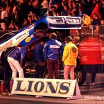 At Lions in 1972- The Hawaiian 71 Dodge Charger FC #5-Howard Koby photo