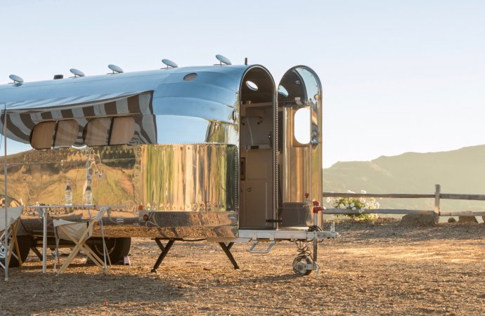 Reborn Bowlus offers luxurious aerodynamic travel trailers