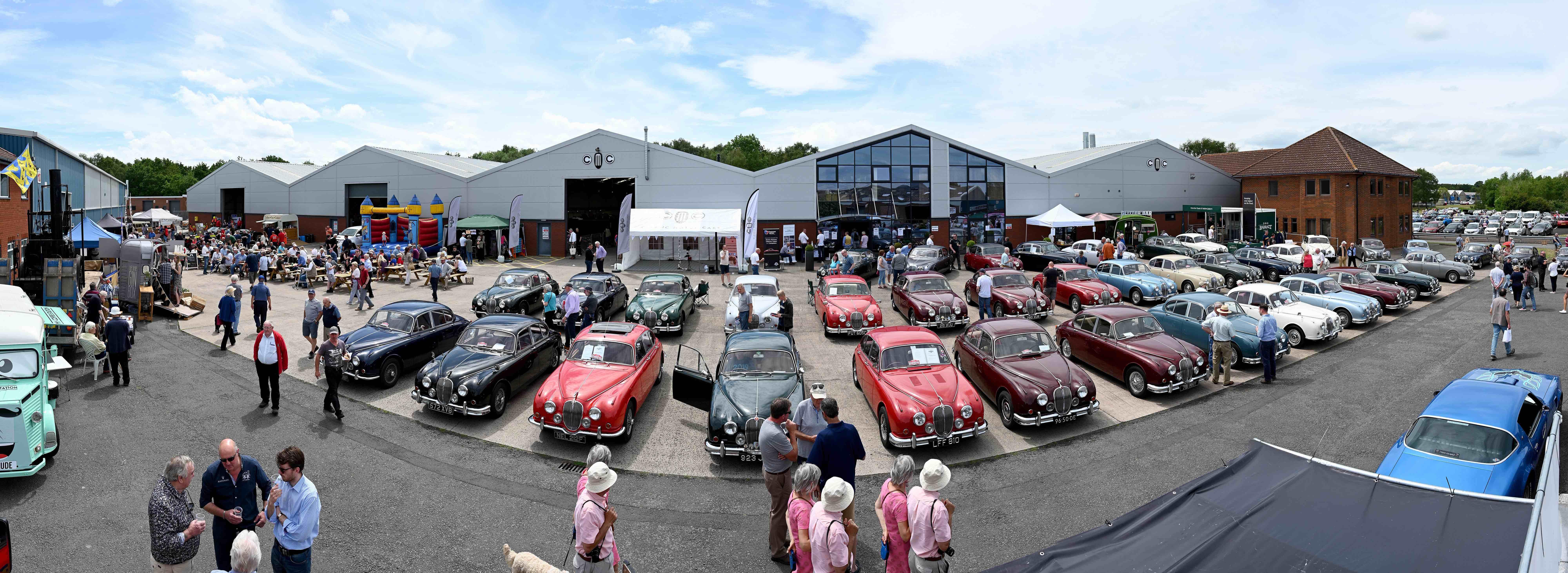Jaguar Mk 2, Jaguar Mk 2 birthday bash draws cars, crowd, ClassicCars.com Journal