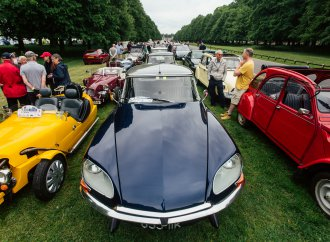 British Citroen owners celebrate the brand's centennial