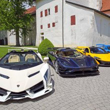 25-vehicle supercar collection set for Bonhams Swiss sale