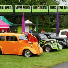 Hot rods and VWs draw crowds to Beaulieu