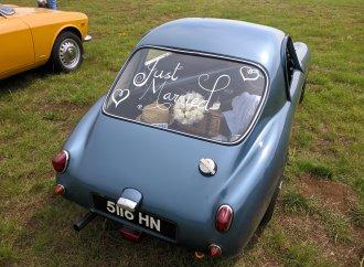 Car show as honeymoon destination?