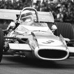 Jackie Stewart, Matra MS80, Silverstone, 1969 British Grand Prix.