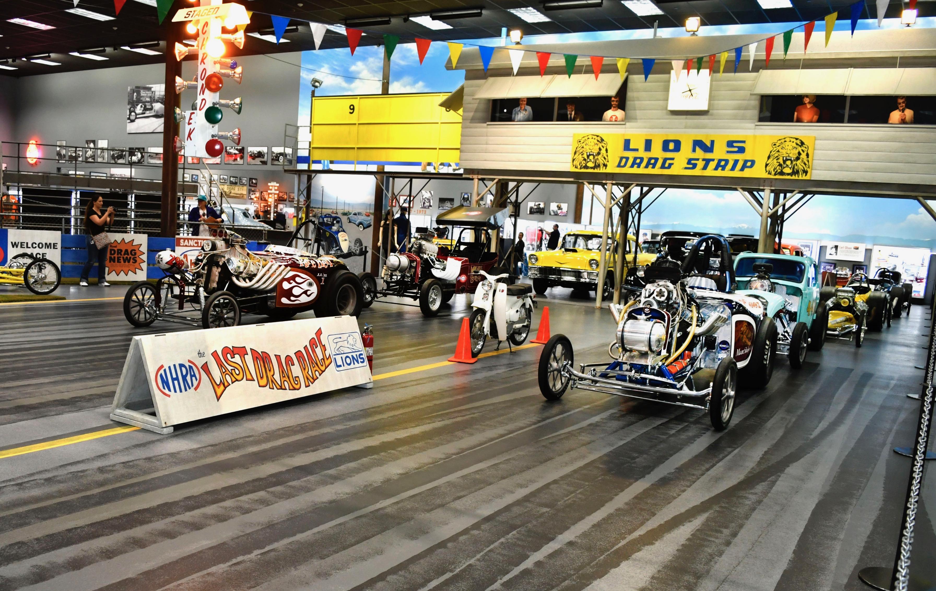 drag strip museum, Lions Drag Strip Museum provides quarter-mile run down Memory Lane, ClassicCars.com Journal