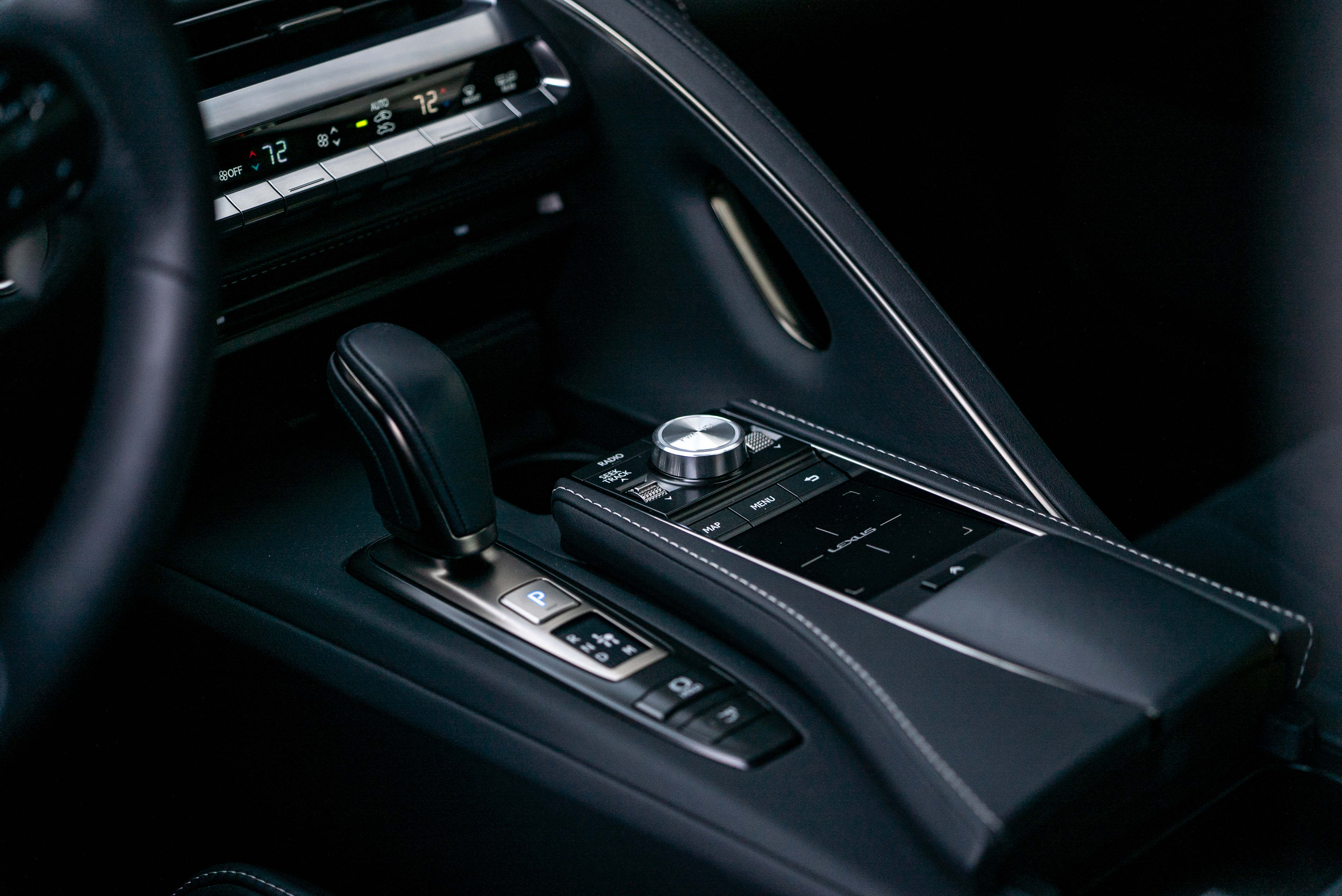 2019 Lexus LC500 interior