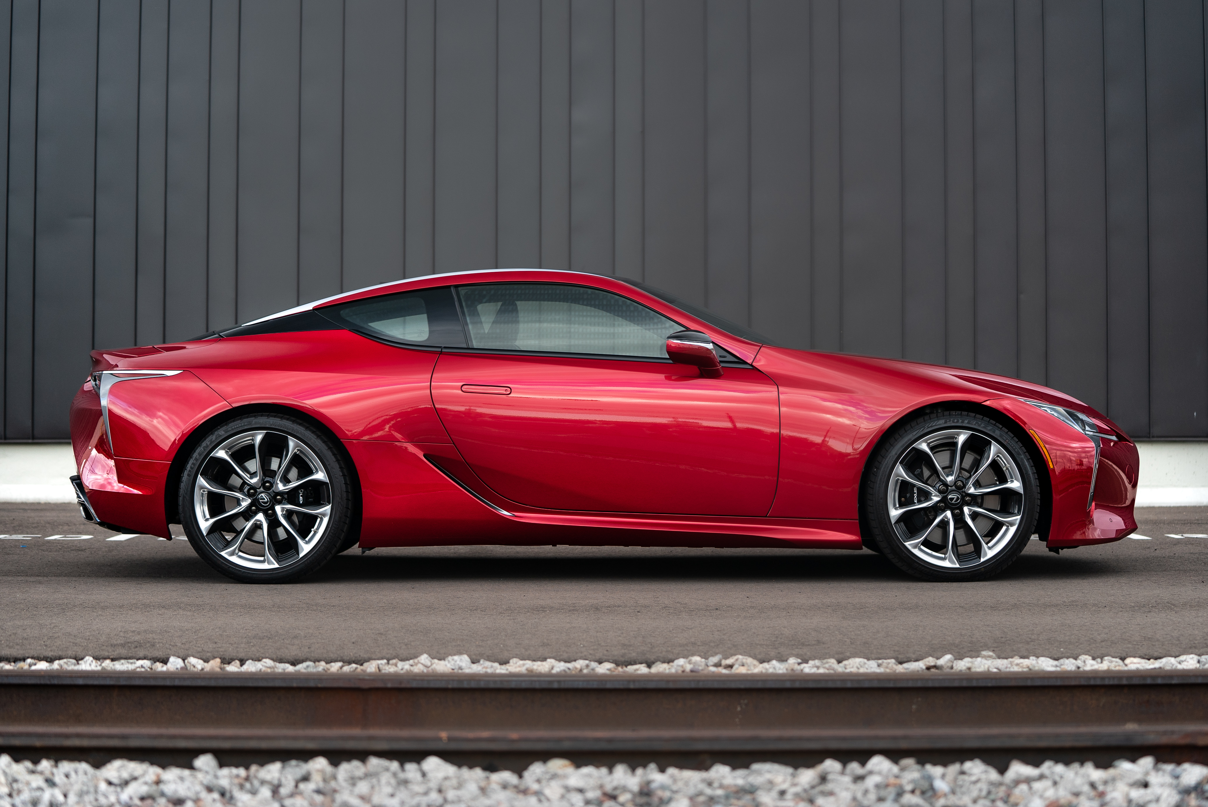 2019 Lexus LC500 side view