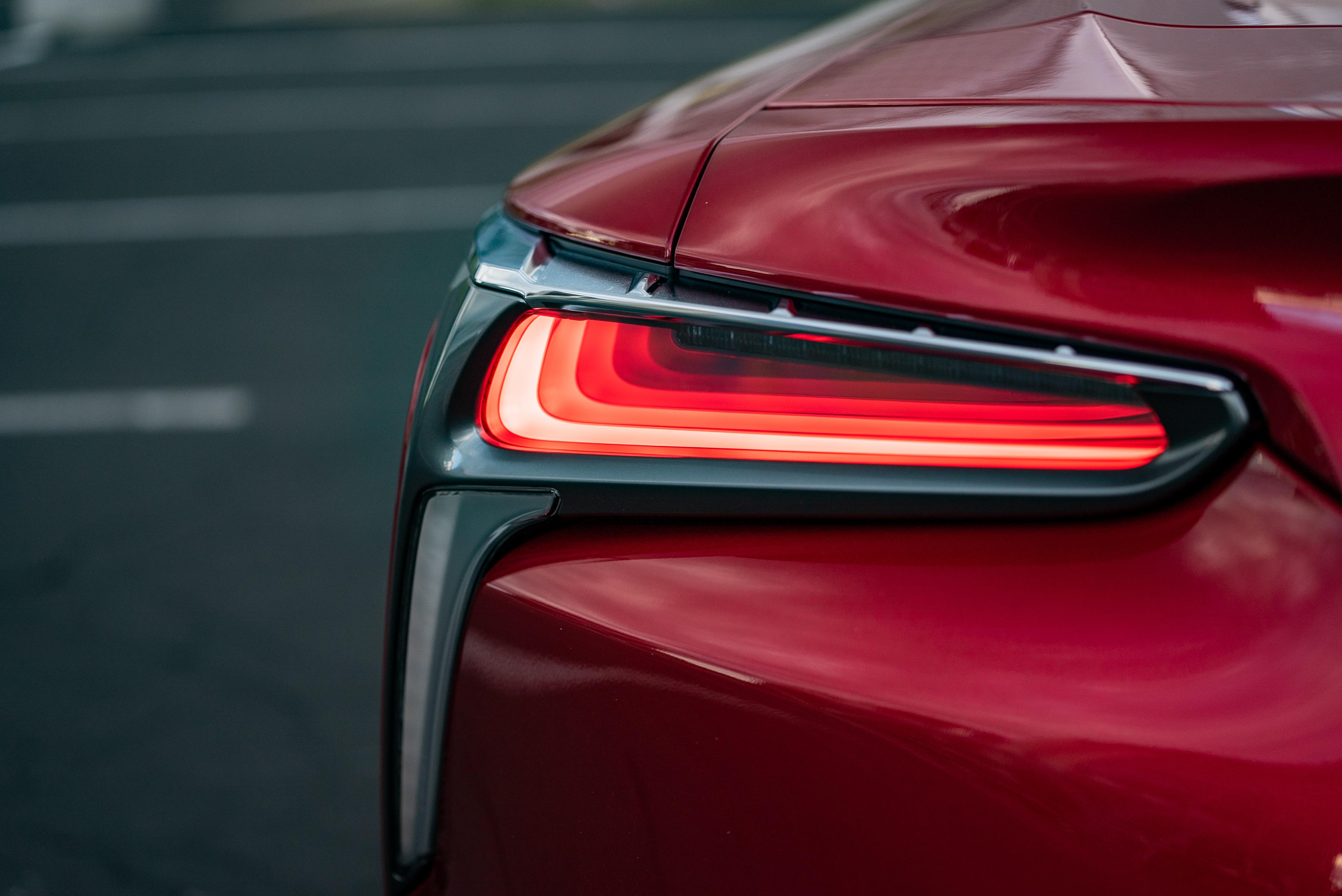2019 Lexus LC500 taillamp