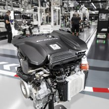 Mercedes-AMG launches 416-horsepower 4-cylinder engine
