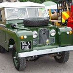 People's Choice runners up the Paget family's Land Rover Series IIA