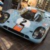 Porsche history on parade into Beaulieu