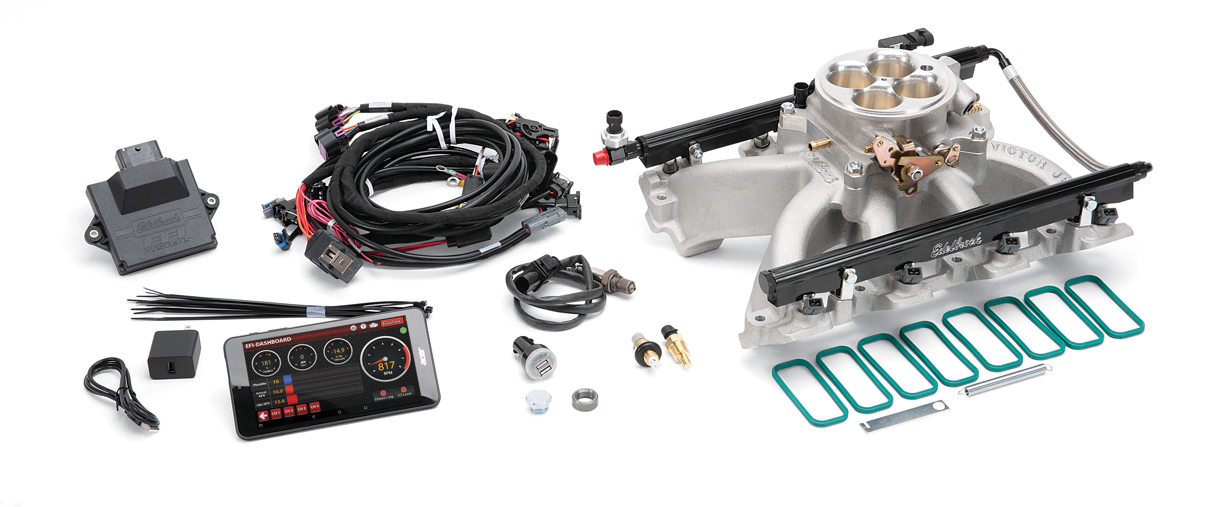 Edelbrock now offers nearly 100 parts for General Motors' LS