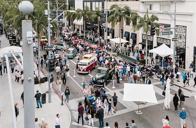 Rodeo Drive Concours cranks up Sunday on the fabled strip