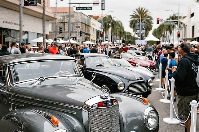 Annual Rodeo Drive Concours leads list of upcoming car shows