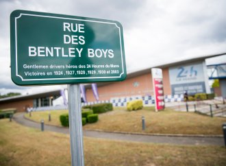 Bentley Boys get their own street in Le Mans