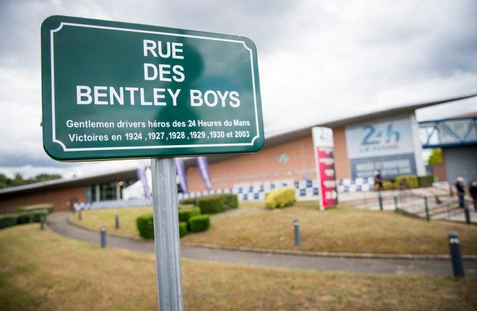 Bentley Boys get their own street in Le Mans