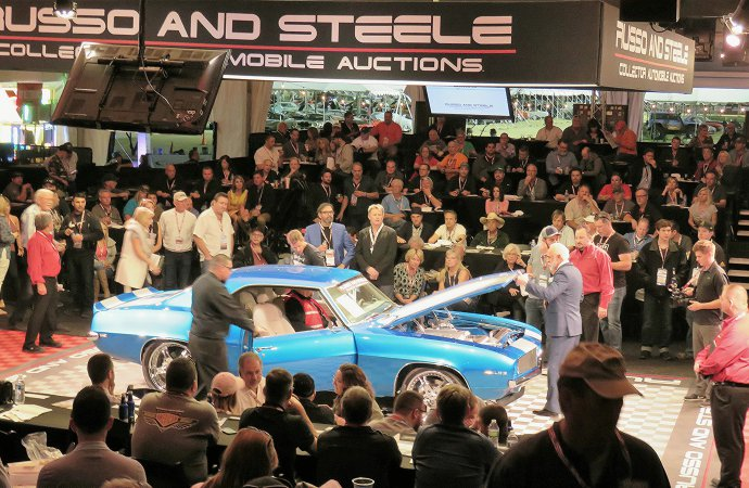 Leake takes Russo and Steele's spot for Arizona auction in January