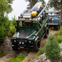 Another record crowd at Beaulieu, this time for 'Simply Land Rover'