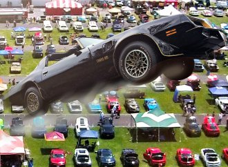 Bandit Trans Am to attempt flyover of Chevy Nationals