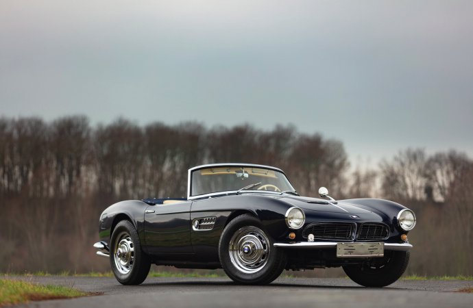 BMW 507, Z8 join 1952 Gordini on Chantilly auction docket