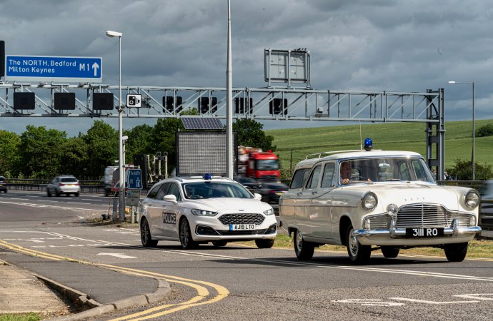 Britain's first motorway turns 60