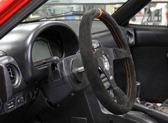 ididit adds Pro-Fab steering for Miata