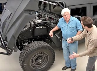 Mil-Spec and its reborn Hummers visit Jay Leno's Garage