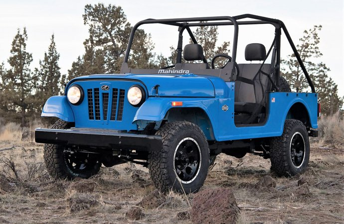 Authentic original Jeep has been imitated the world over