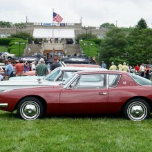 Cincinnati's concours is a great classic car showcase