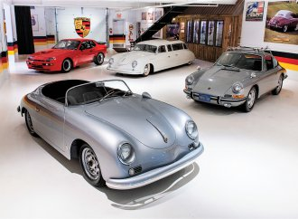 'Porsche paradise' goes to auction at the Taj Ma Garaj in Dayton