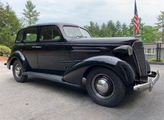 1937 Chevrolet Master Deluxe back on the road after 44 years