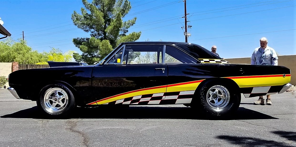 Hemi Dodge Dart racer was factory built for the drag strip