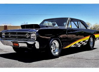 Hemi Dodge Dart racer was factory built for the drag strip