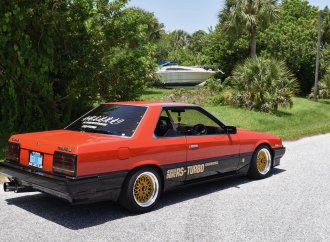 1985 Nissan Skyline RS-X Turbo is JDM factory hot rod