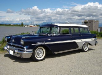 Pontiac station wagon with Transcontinental upgrades