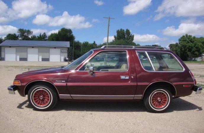 Pacesetter? In 1977 AMC added station wagon room to its Pacer