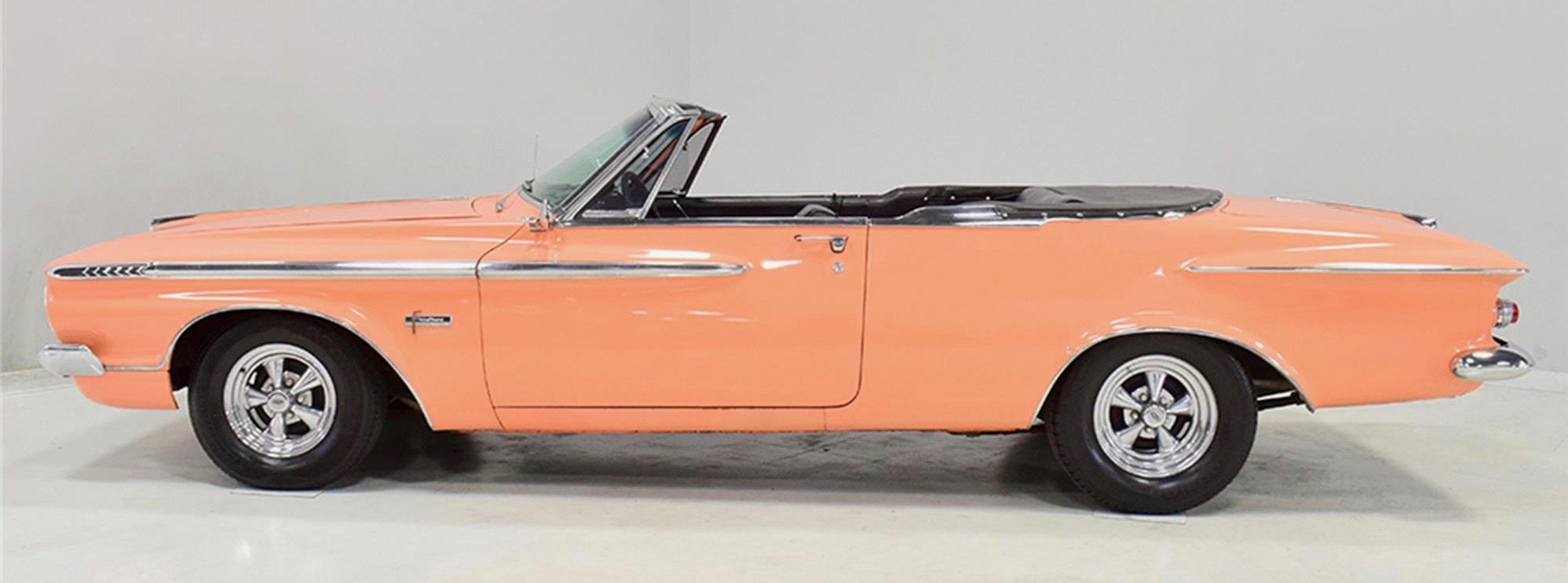 1962 Plymouth Sport Fury convertible, Not pink. Not orange. Not even salmon. But it is a 1962 Plymouth Sport Fury convertible, ClassicCars.com Journal