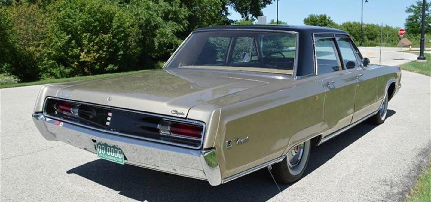 1968 Chrysler Newport, Newport was an important model for Chrysler, ClassicCars.com Journal