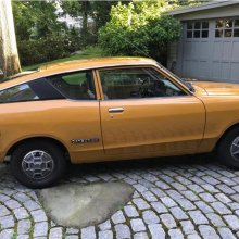 1976 Datsun B210 fastback figures to have Sunny disposition