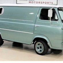 Good times: Custom 1965 Ford Econoline from party-van heyday