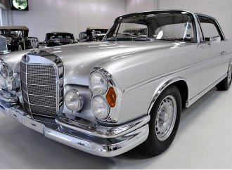 Rare RHD Mercedes 300SE coupe in low-mileage, 1-owner condition