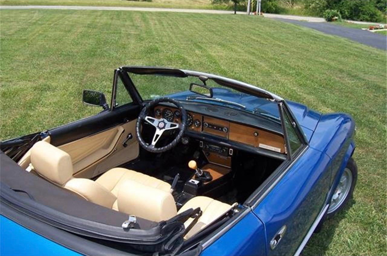 Fiat 2000 Spider, 1980 Fiat 2000 Spider offered with many updated parts, ClassicCars.com Journal