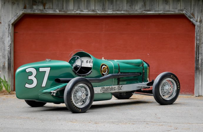 Studebaker museum hopes to post winning bid on historic race car