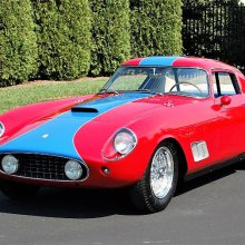 Competition Ferraris celebrated at Concours d'Elegance of America